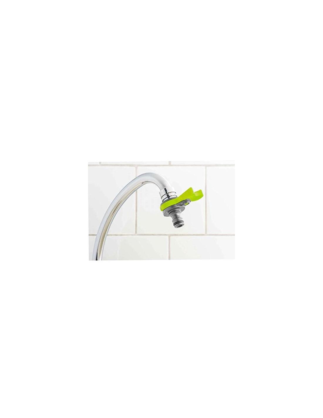 Adaptateur rapide d 39 arrosage pour robinet d 39 int rieur for Adaptateur robinet interieur tuyau arrosage