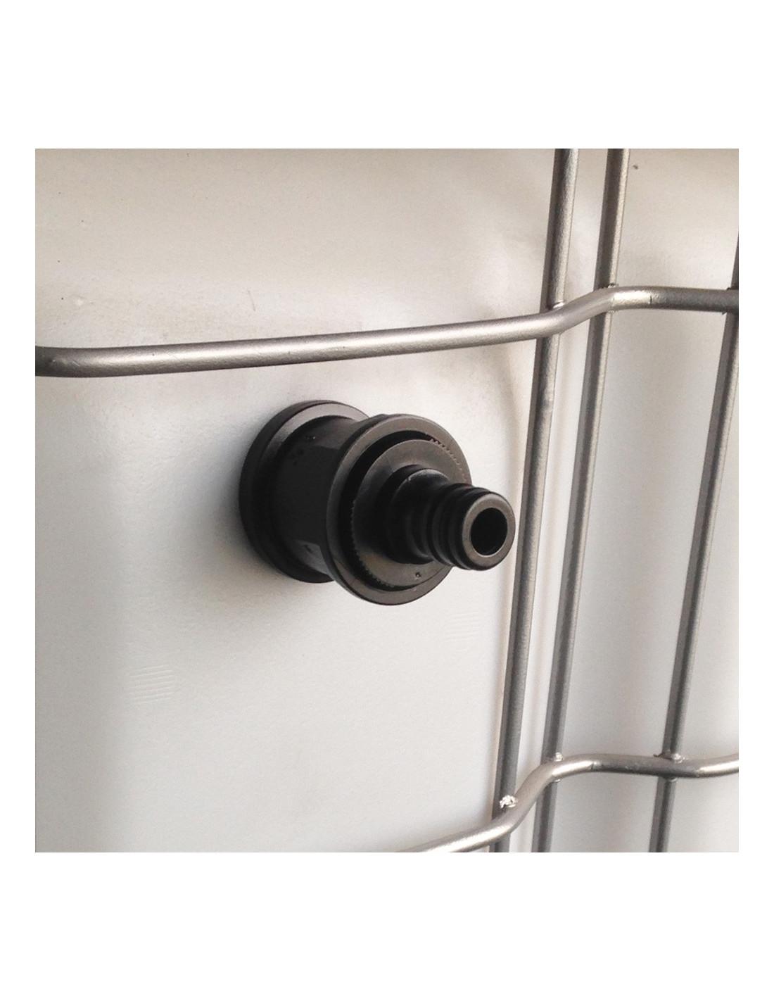 trop plein cuve eau 1000l embout rapide m le. Black Bedroom Furniture Sets. Home Design Ideas