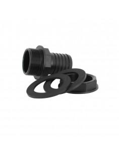 Trop-plein cuve eau 1000L - Embout droit Diamètre 50 mm