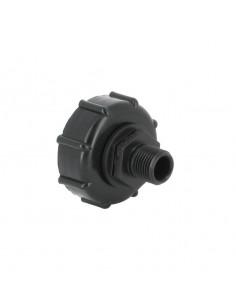 "Raccord S60X6 - Fileté mâle 1/2"" Pas gaz (15-21 mm)"