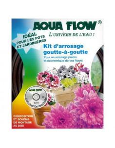 Kit Goutte à Goutte Aquaflow Fleurs Jardinières Balcons