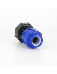 Raccord S60X6 pour cuve eau 100 litres - Raccord pression Diamètre 25 mm