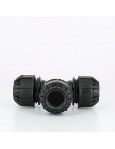 Raccord Té Compression Ø32 mm x Ø32 mm x Ø32 mm - kit couplage cuve