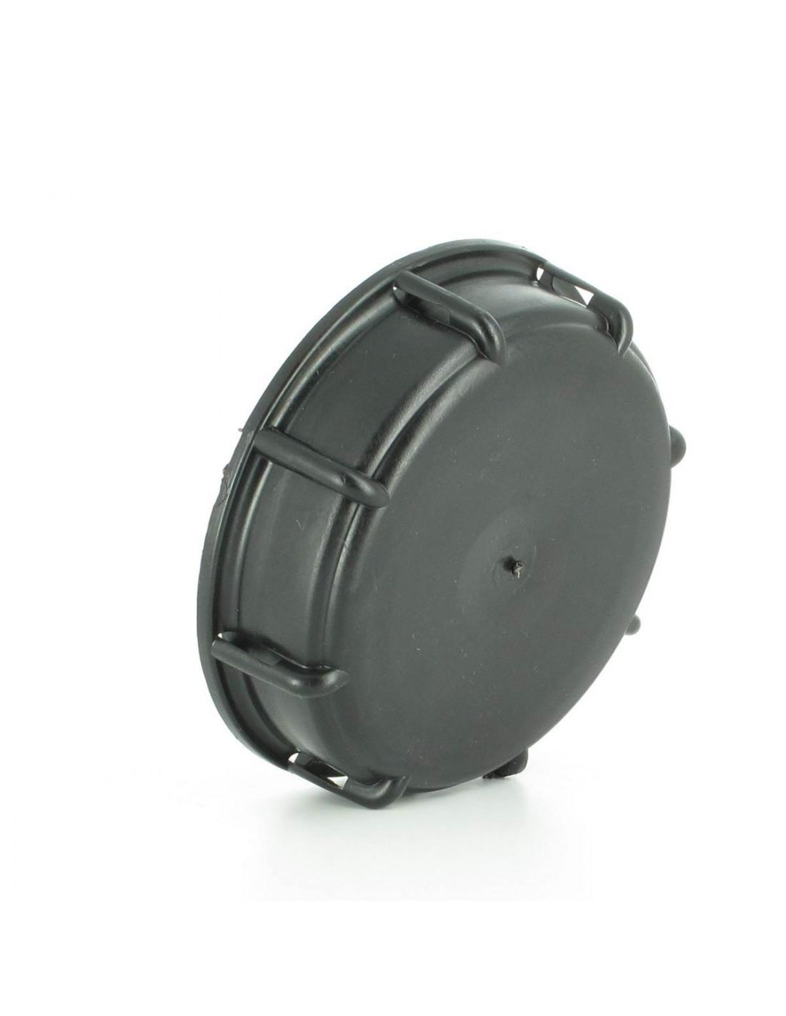 Bouchon plein standard pour vanne 3 s100x8 cuve eau 1000l - Robinet pour recuperateur d eau 1000l ...