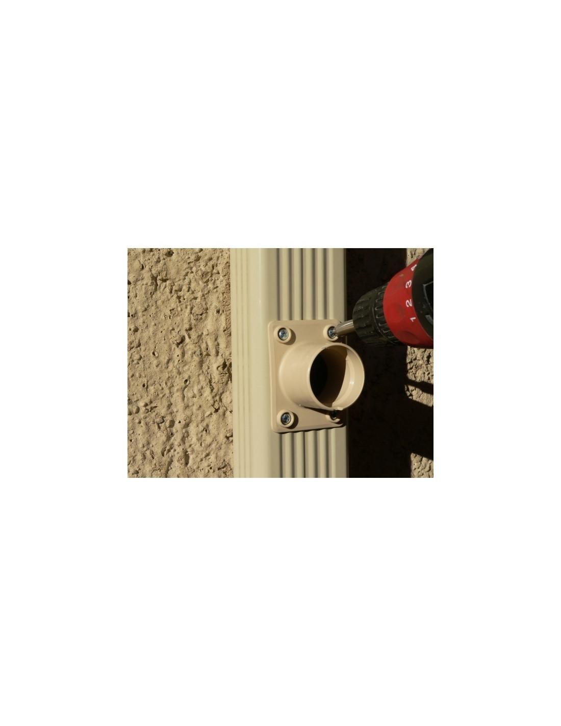 kit collecteur rectangulaire eau de pluie capt 39 eau sable. Black Bedroom Furniture Sets. Home Design Ideas
