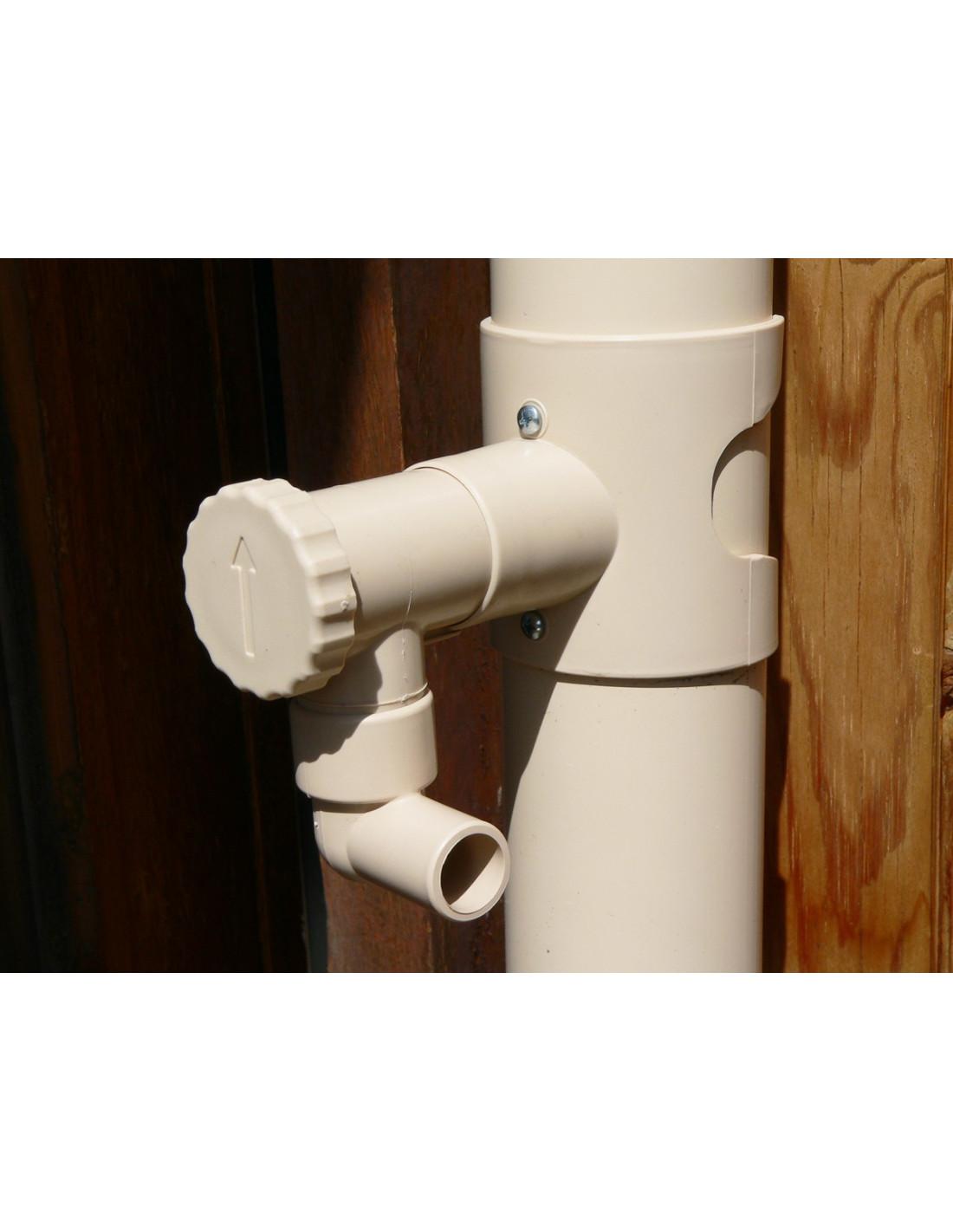 kit collecteur eau de pluie capt 39 eau sable. Black Bedroom Furniture Sets. Home Design Ideas