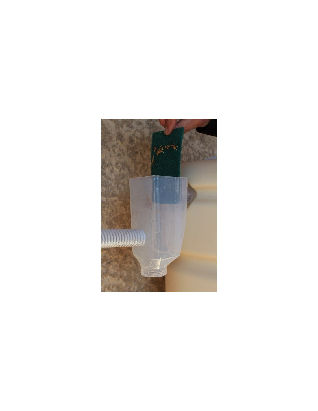 filtre pour collecteur cuve eau de pluie filtro. Black Bedroom Furniture Sets. Home Design Ideas