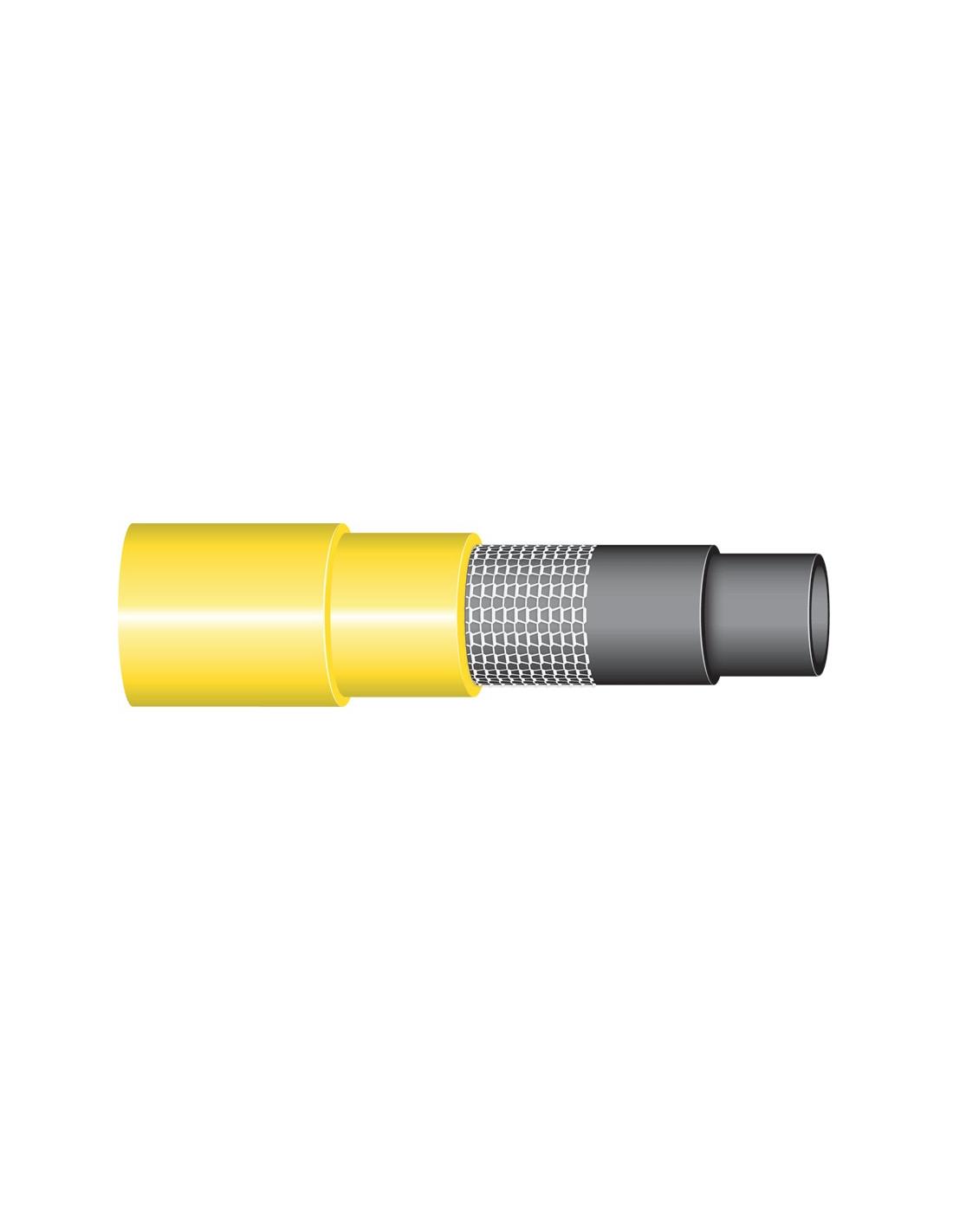 Tuyau d 39 arrosage 15 mm couronne 25 m tricoflex for Adaptateur robinet interieur tuyau arrosage