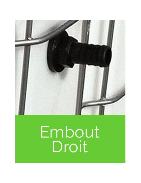 Trop-pleins Embout Droit