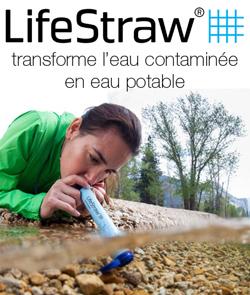 Lifestraw transforme l'eau contaminée en eau potable